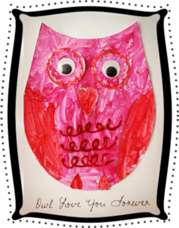 Lovely Owl Craft by Learn Create Love