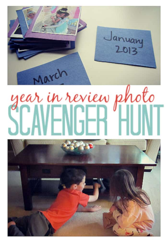 Memory Scavenger Hunt by No Time For Flash Cards
