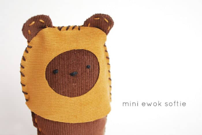 Mini Ewok Softie by Wild Olive