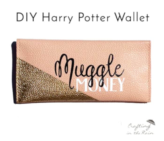 Muggle Money Wallet by Crafting In The Rain