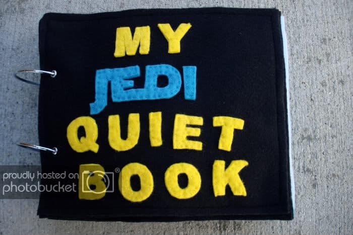 My Jedi Quiet Book by Julies Blog