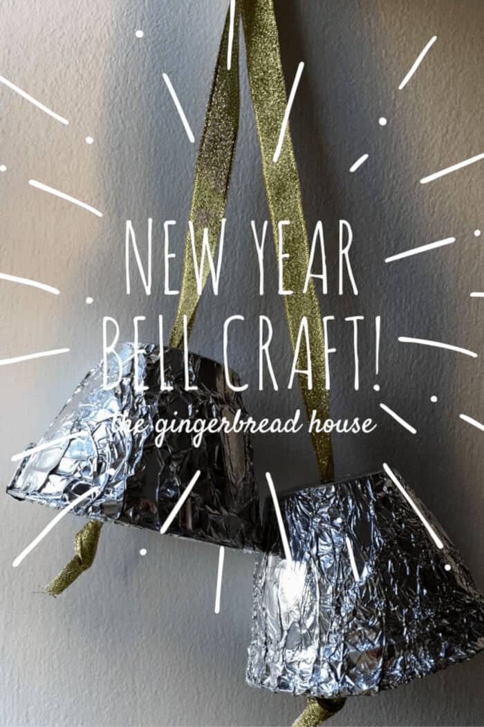 New Year Bells Craft for Kids by The Gingerbread House