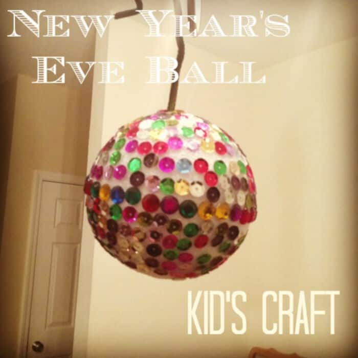 New Years Eve Ball by Mom Unleashed