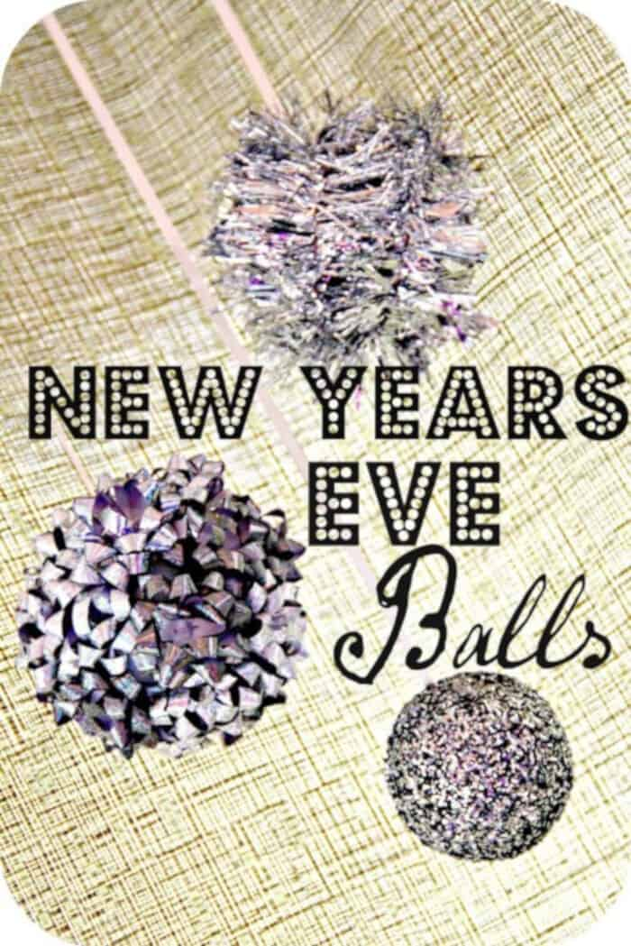 New Years Eve Balls by Happy Home Fairy