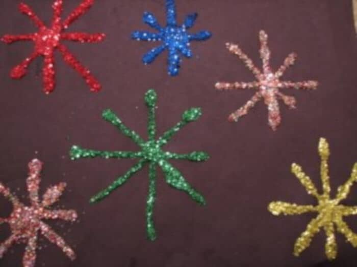 New Years Fireworks Craft by Ramblings of a Crazy Woman