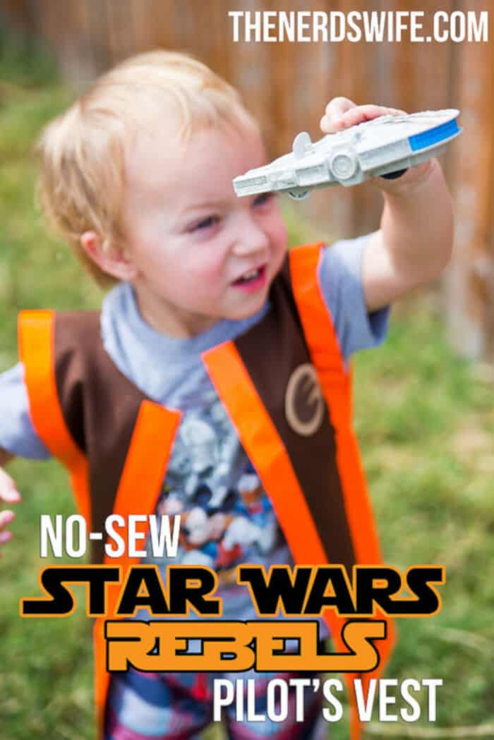 No-Sew Star Wars Rebels Pilot Costume by The Nerds Wife