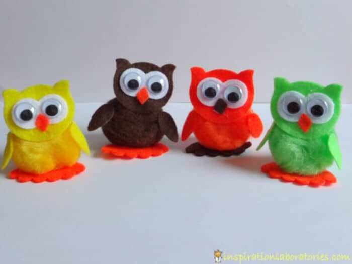 Owl Craft and Play Scenes by Inspiration Laboratories