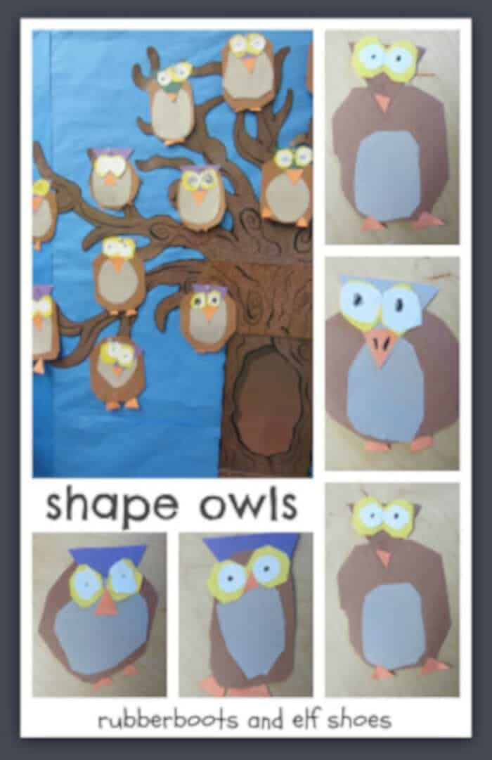 Owl Craft by Rubber Boots and Elf Shoes