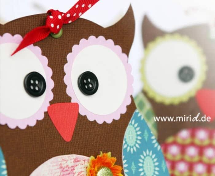 Owl Sophia by Miri D