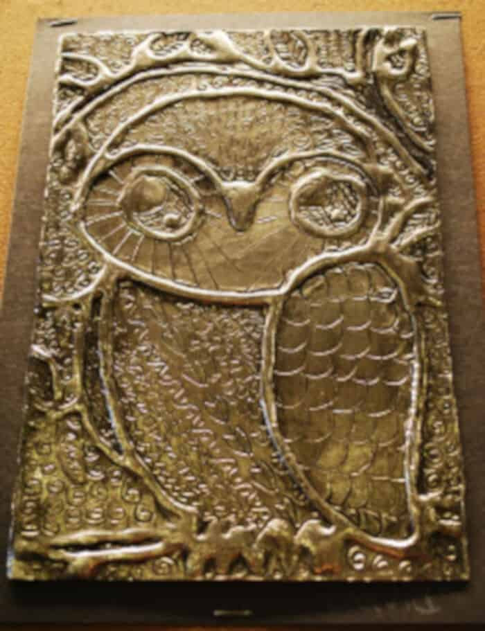 Owls, Foil, Glue, and Shoe Polish by Make It a Wonderful Life