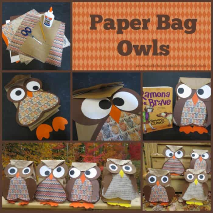 Paper Bag Owls by Path Through The Narrow Gate