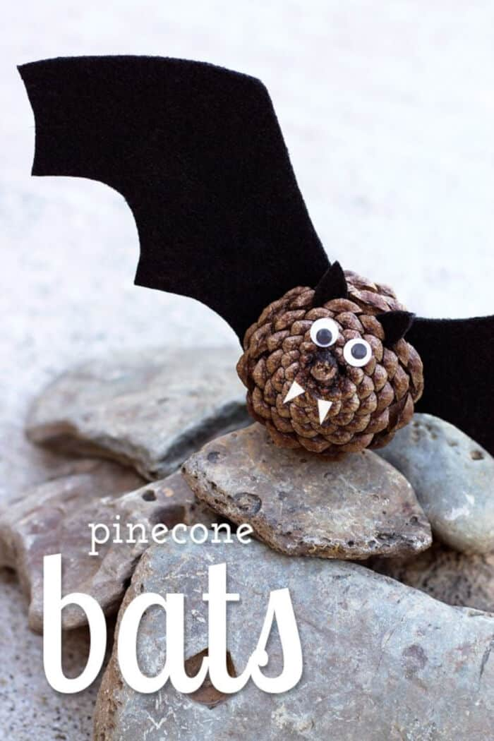 Pinecone Bats by Fireflies and Mud Pies