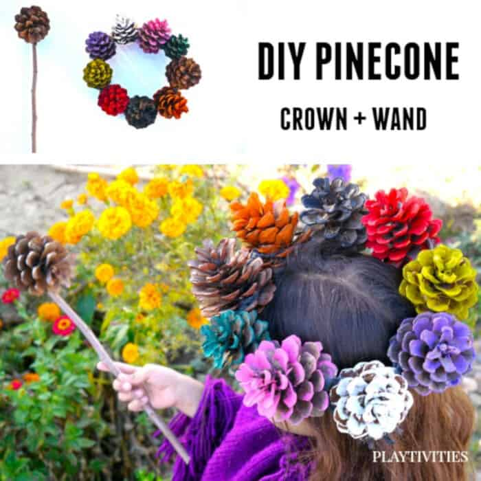 Pinecone Crafts by Playtivities