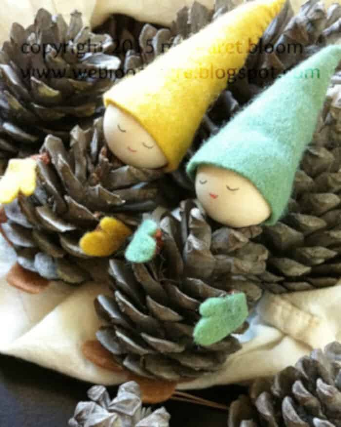 Pinecone Gnomes by We Bloom Here