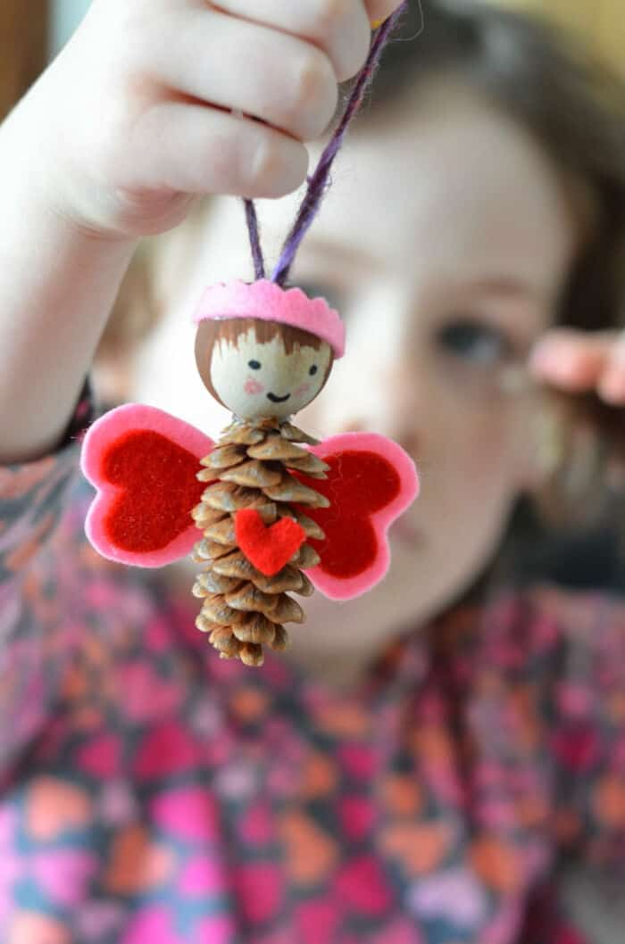 Pinecone Love Fairies by Twig and Toadstool