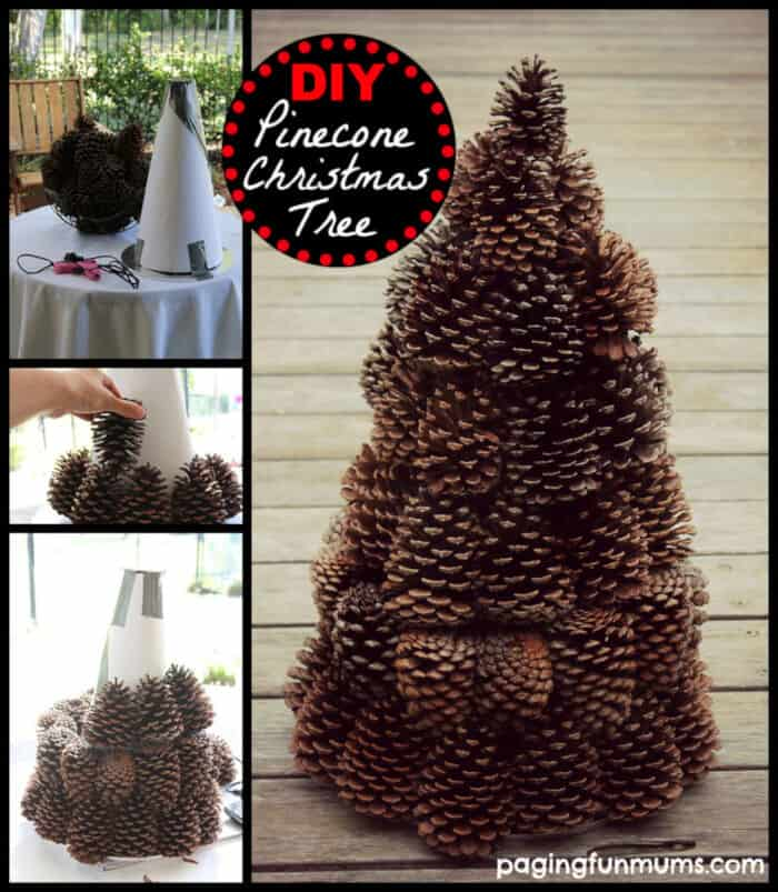 Pinecone Tree Centerpiece by Paging Fun Mums