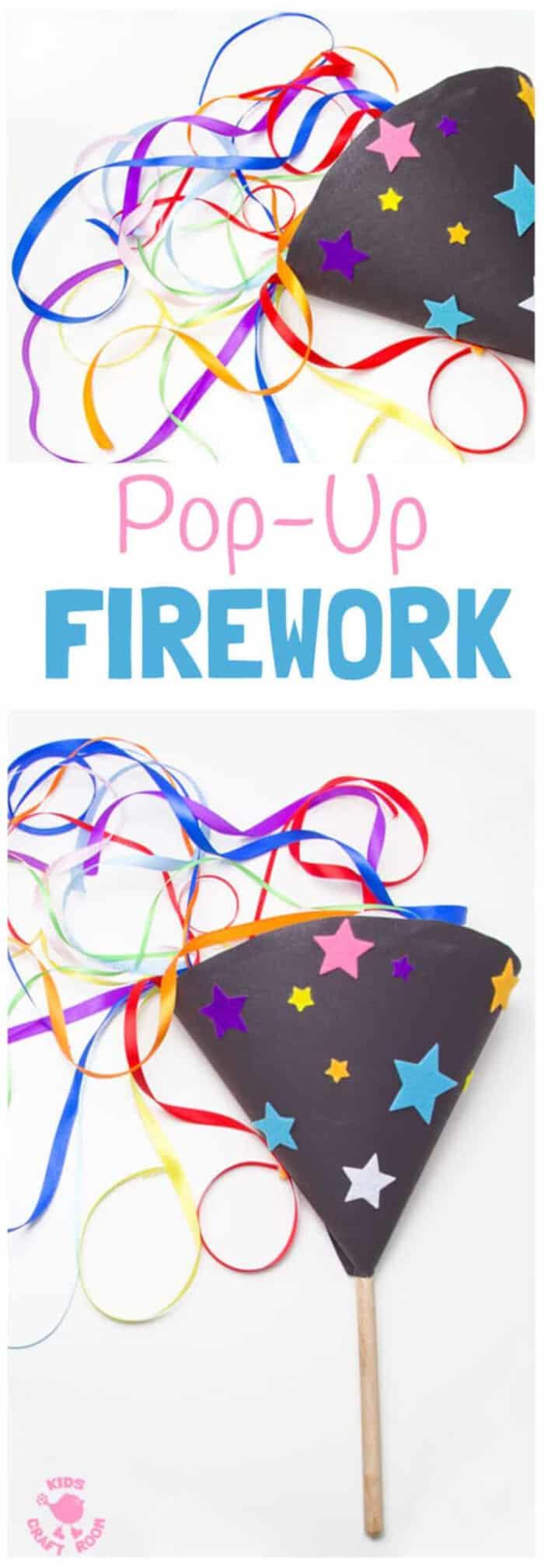 Pop-Up Firework by Kids Craft Room