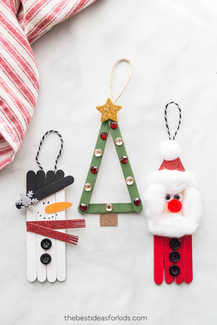 Popsicle Stick Christmas Crafts by The Best Ideas for Kids