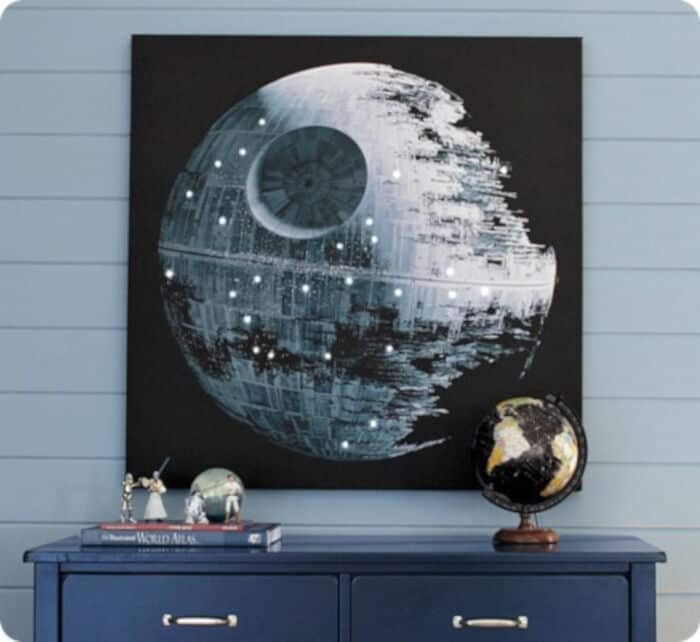 Pottery Barn Star Wars Art Knockoff by 320 Sycamore
