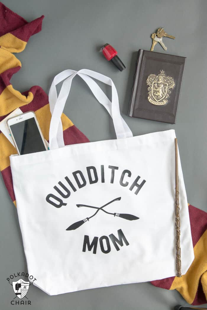 Quidditch Mom Tote by Polkadot Chair