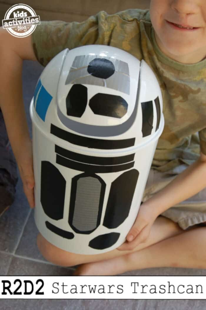 R2D2 Trash Can by Kids Activities