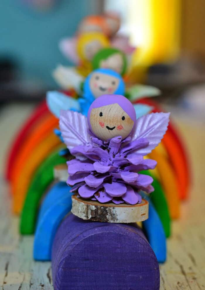 Rainbow Fairies by Twig and Toadstool