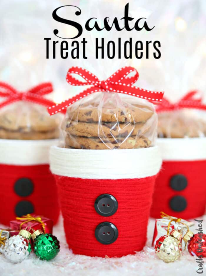 Santa Treat Holders by Crafts Unleashed