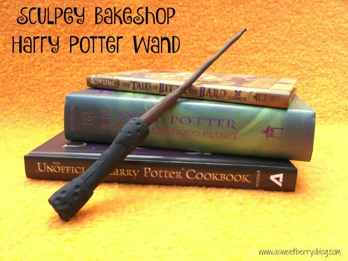 Sculpey BakeShop Harry Potter Wand by A Sweet Berry Designs