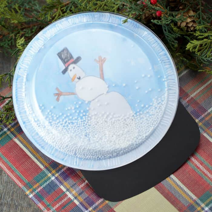 Snow Globe Craft by Fireflies and Mud Pies