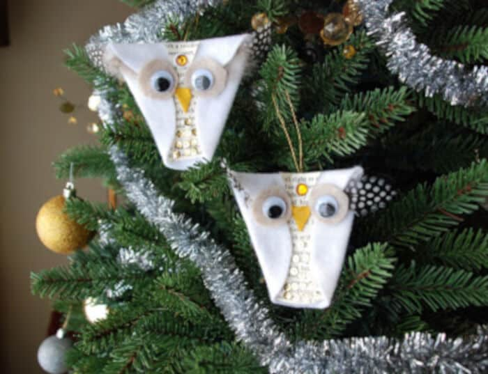 Snowy Owl Ornaments by That Artist Woman