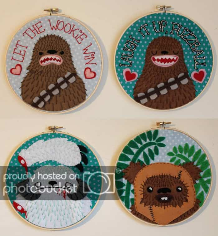 Star Wars Applique Embroideries by Craftster