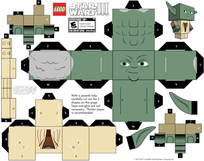 Star Wars Cube Craft by Cube Craft