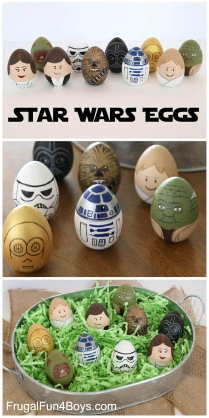 Star Wars Eggs by Frugal Fun For Boys and Girls