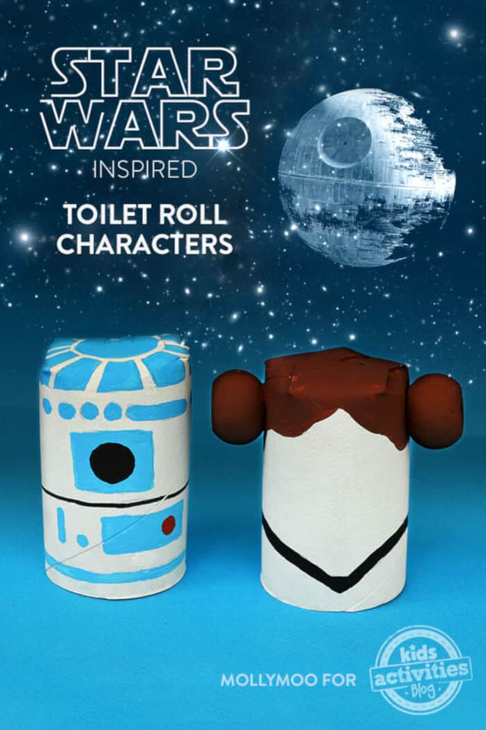 Star Wars Inspired Toilet Roll Characters by Kids Activities