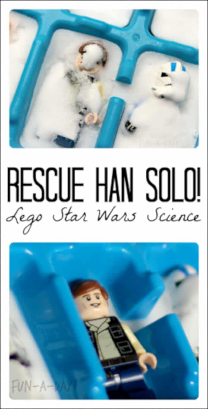Star Wars LEGO Science Idea by Fun-A-Day