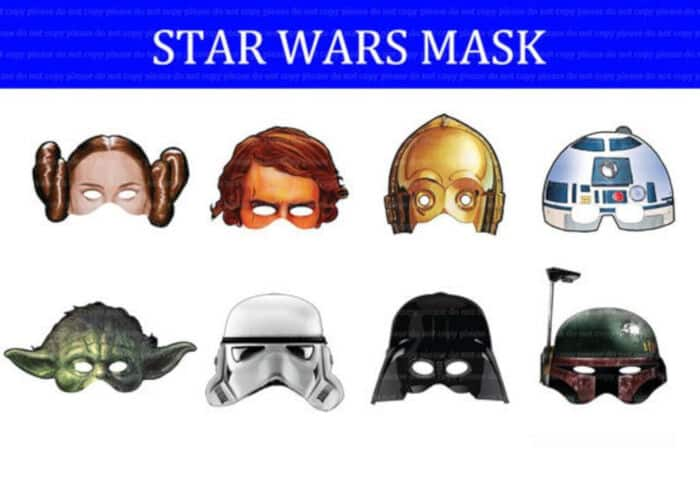 Star Wars Mask by Etsy