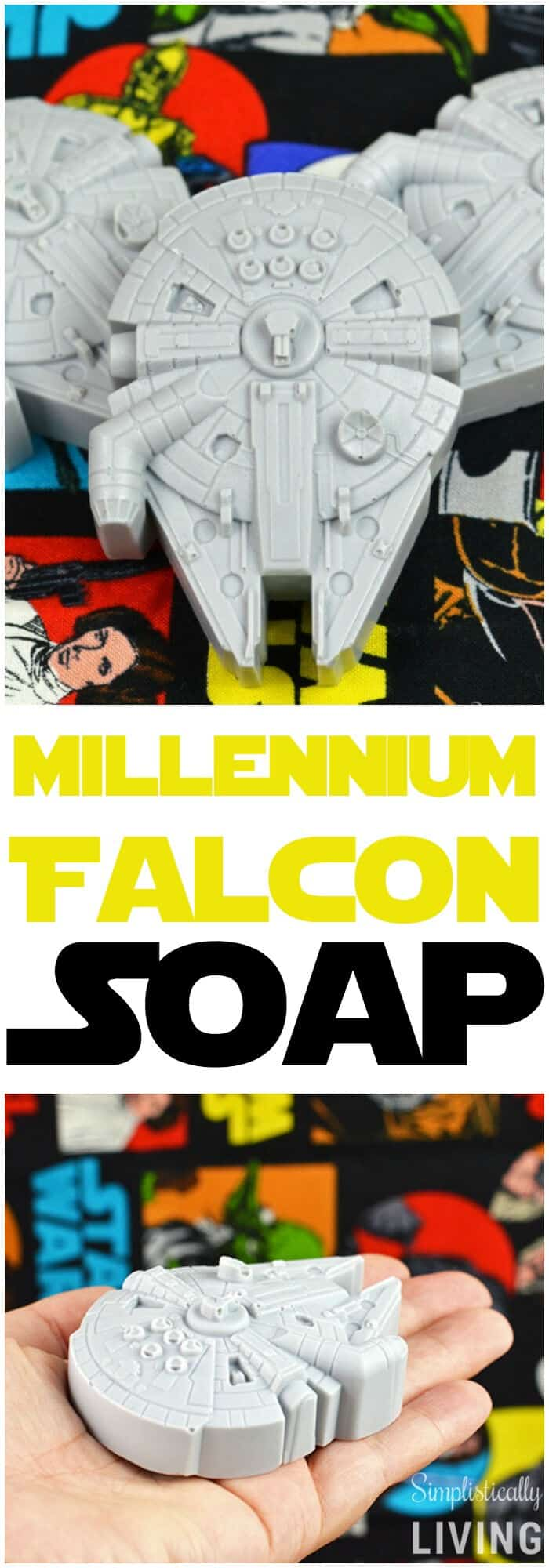 Star Wars Millenium Falcon Soap by Simplistically Living