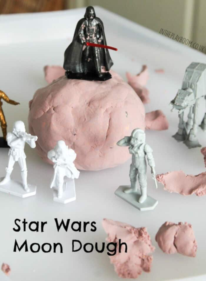 Star Wars Moon Dough by In The Playroom