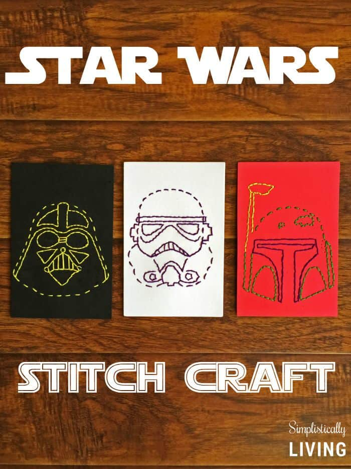Star Wars Stitch Craft by Simplistically Living