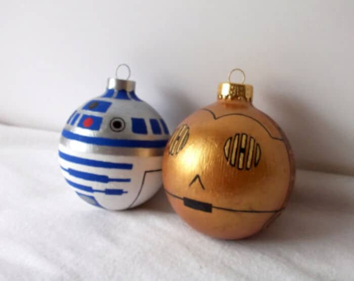 Star Wars X-Mas Ornaments by Geek Art Gallery