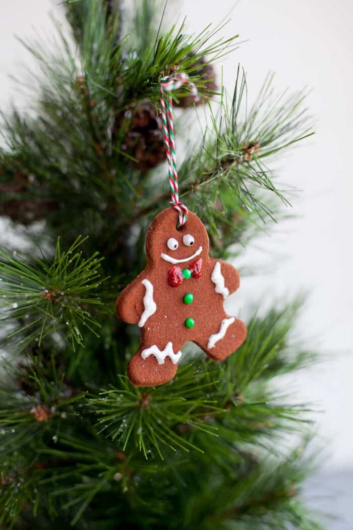 Super Easy Homemade Cinnamon Ornaments by Wholefully