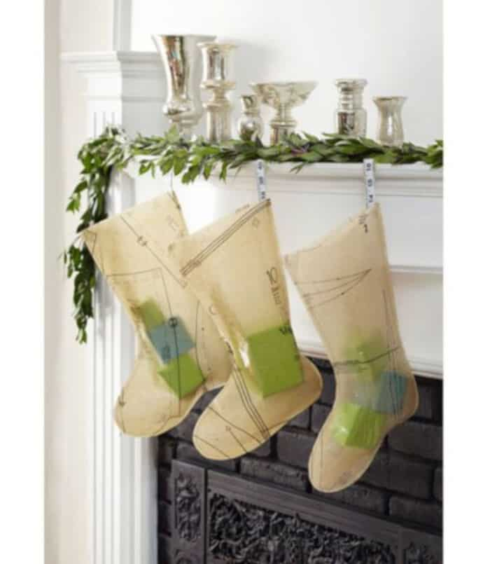 Unique Christmas Stocking Craft by Country Living