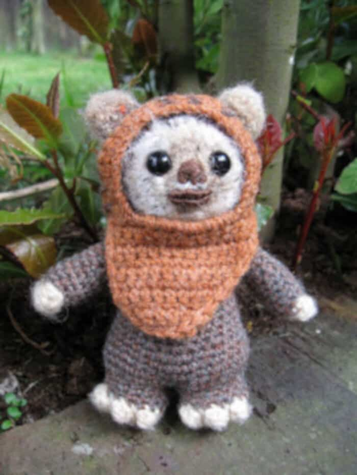 Wicket the Ewok by Lucy Ravenscar