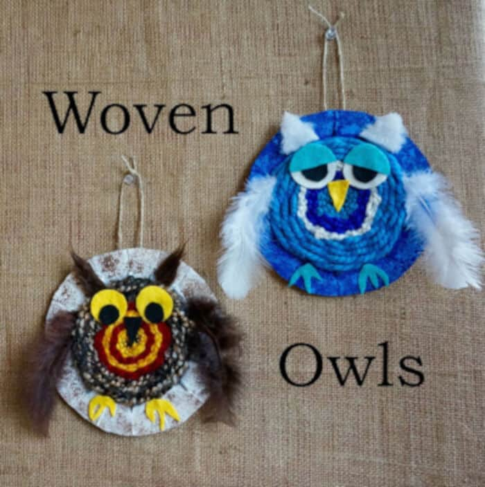 Woven Owls by That Artist Woman