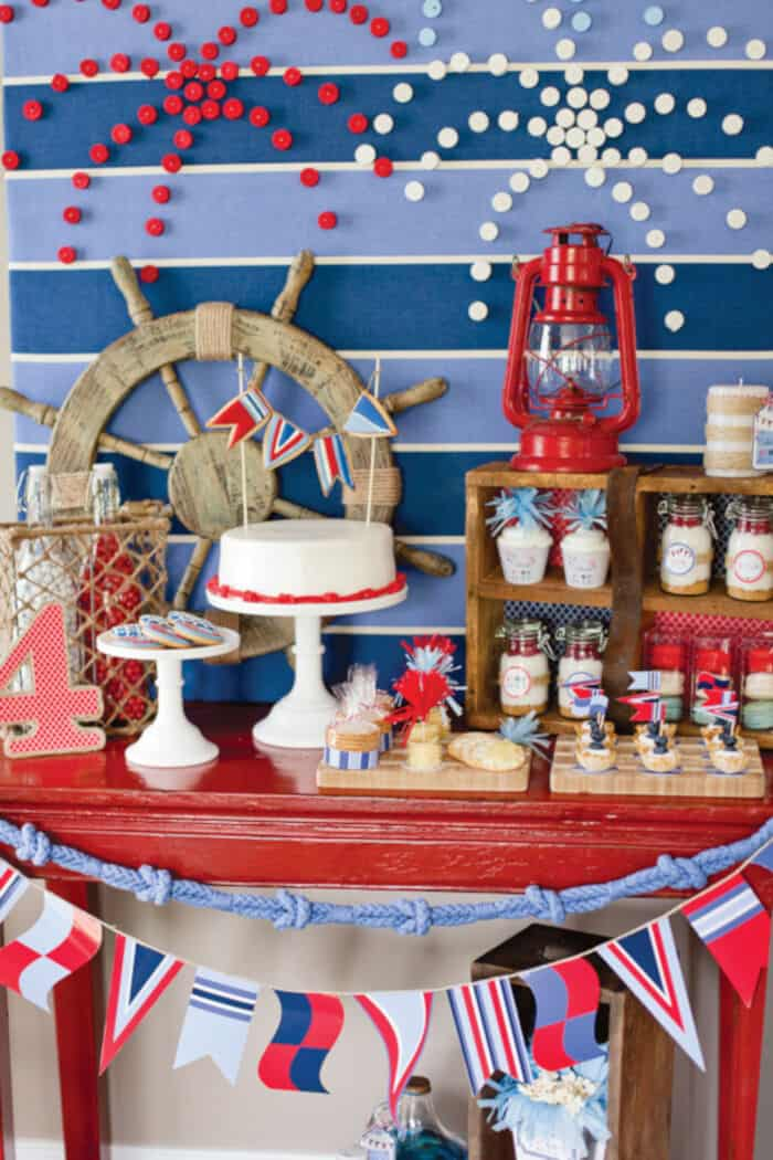 4th of July Party Ideas with a NAUTICAL Twist by Hostess with the Mostess