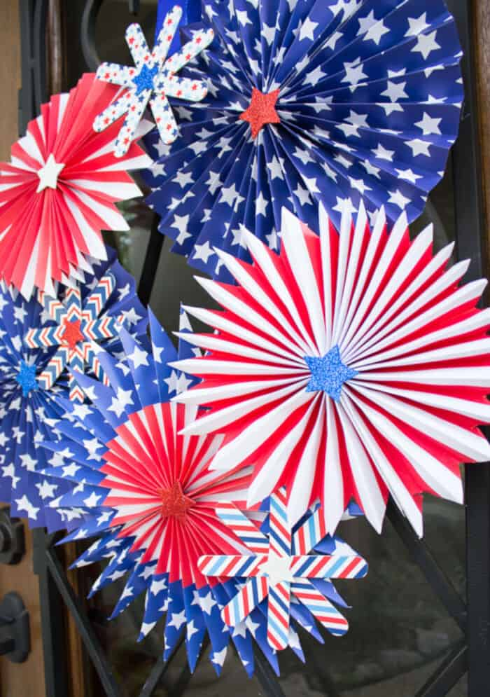 4th of July Wreath by Design Improvised