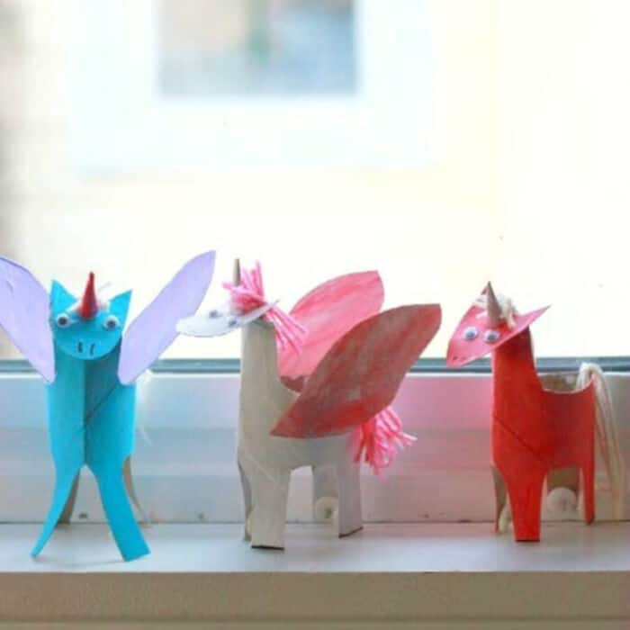 A Happy Handmade Unicorn Craft by The Artful Parent
