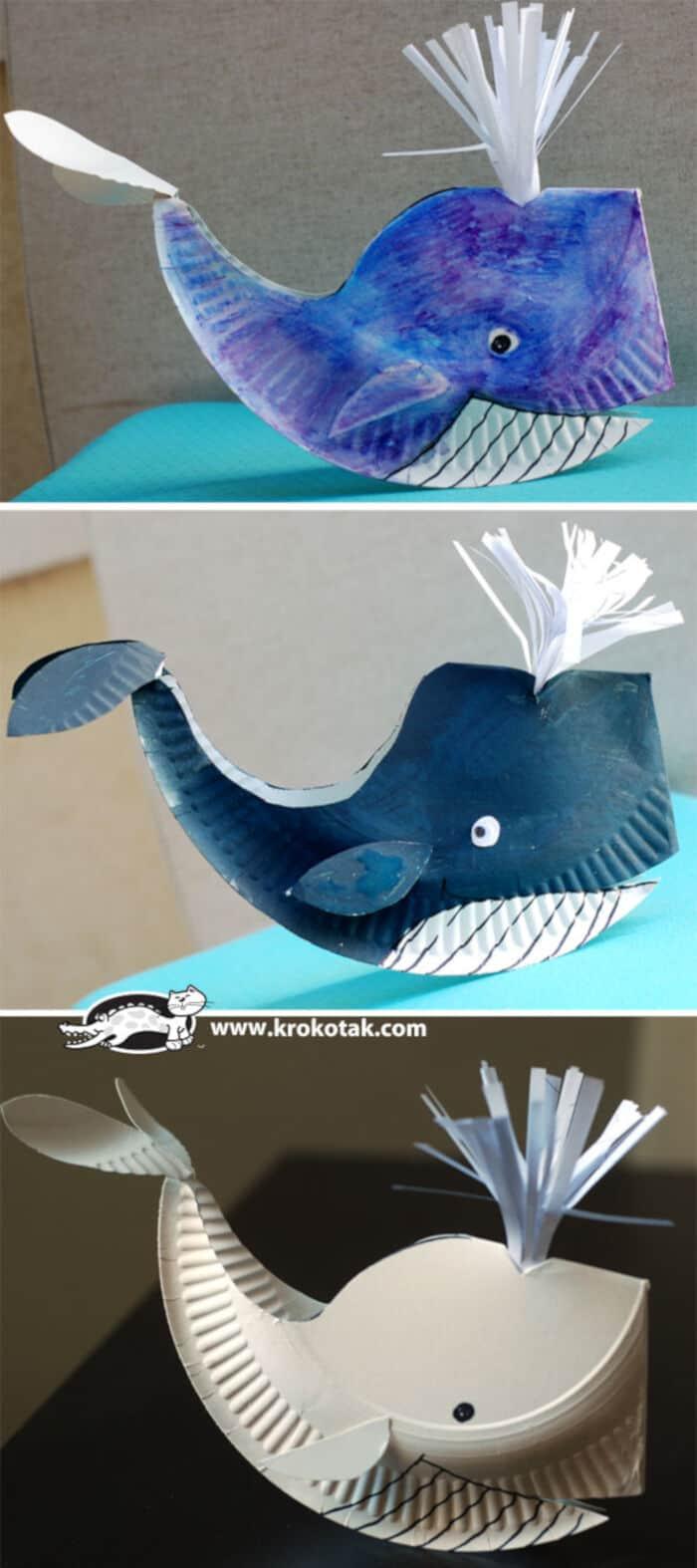 A-Paper-Plate-Whale-by-Krokotak