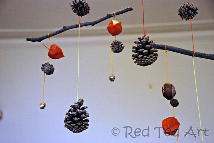 Autumn Mobile by Red Ted Art