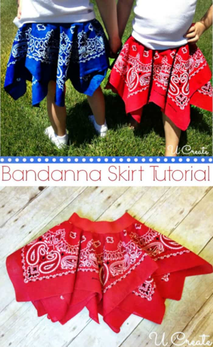 Bandanna Skirt by U Create
